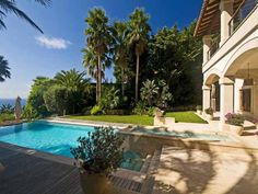 Wonderful pool and outdoor area from Andratx, Mallorca.