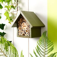 Handmade Single Tier Bee Hotel - gardener