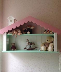 2. Полочка - домик - детская полочка,полочка - домик,полка для сувениров