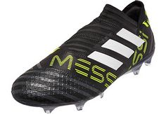 adidas Nemeziz Messi 17 360Agility FG Soccer Cleats. Get your own from SoccerPro now. Football Boots, Football Soccer, Messi Soccer Shoes, Best Soccer Cleats, Soccer Training, Shoe Collection, Kicks, Adidas, Men
