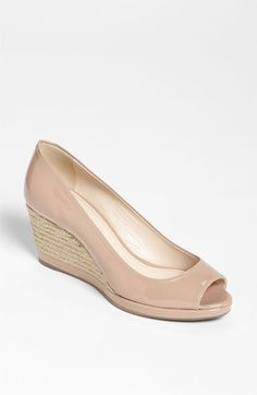 Wedges get more casual and look for details on the heels.  Prada Wedge Pump | Nordstrom