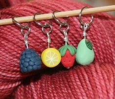 Fruity Stitch Markers