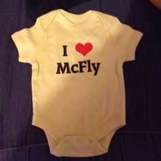 Even new born babies love Mcfly!