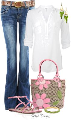 """Easy spring"" by madamedeveria ❤ liked on Polyvore"