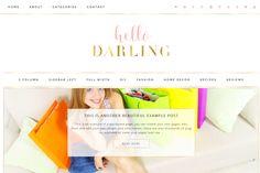 Darling - Wordpress Theme by TinselPop on @creativemarket