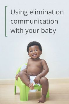 How I Potty Trained My 2-Month-Old