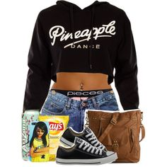 Pineapple, created by gwopclothes on Polyvore