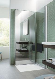 Duravit - OpenSpace B fold away shower panes