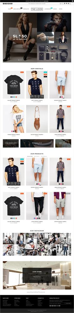 The Look is minimal Fashion #Shopify Theme for stunning multipurpose #eCommerce #website with 4+ unique homepage layouts download now➩ https://themeforest.net/item/minimal-fashion-shopify-theme-the-look/17460894?ref=Datasata