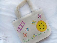 Personalized Lunch Bag    Kids can do their part to keep trash out of landfills by making a personalized lunch bag that they can use over and over again. When school is out, use this cute bag to carry toys, snacks, or coloring supplies.