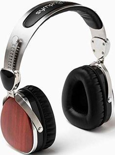 Buy Symphonized Wraith Premium Genuine Wood On-Ear Headphones with In-Line Microphone, Tangle-Free Noise-Isolating Wired Stereo Earphones with Spare Replacement Cable Included, Cherry Finish Best Headphones, Wireless Headphones, Over Ear Headphones, Skullcandy Headphones, Best Gaming Headset, Audio, Birthday Gift For Him, Birthday Presents