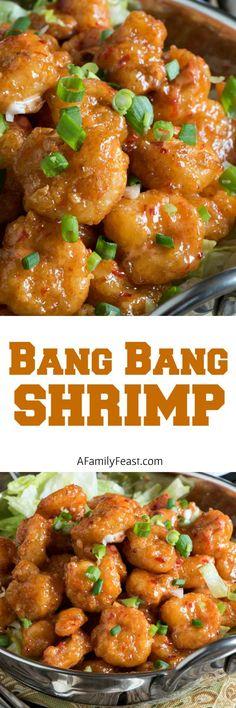 Bang Bang Shrimp - A copycat version of the super popular appetizer originally served at the Bone Fish Grill chain of restaurants.