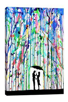 Pour Deux by Marc Allante Canvas Print