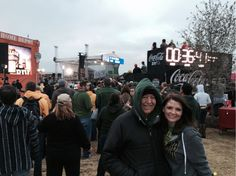 Celebrating health and Baylor! ESPN Gameday!