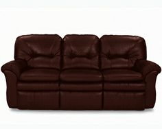 Gavin La-Z-Time® Full Reclining Sofa by La-Z-Boy color walnut