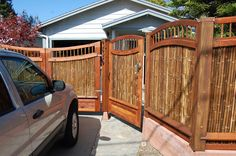 BAMBOO FENCE AND GATE