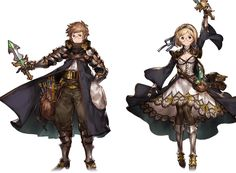 Granblue Fantasy amy and aspen? Game Character Design, Character Creation, Character Design References, Fantasy Character Design, Character Design Inspiration, Character Concept, Character Art, Granblue Fantasy Characters, Fantasy Races