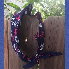Dolly bow FREE SHIPPING in the US Bandana birds by ScarlettBows