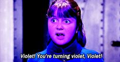 "Which ""Willy Wonka & The Chocolate Factory"" Character Are You? I'm violet!"