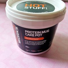 So damn excited for this sexy little @theproteinworks mug cake for dessert tonight   Red velvet cake is my absolute FAVOURITE!!  With 150 cals | 1.5g fat | 11.2 carbs | 3.3g sugar | 20.5g protein and no hidden nasties I couldn't resist 'accidentally' slipping it into my shopping cart