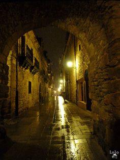 Calle del Reloj - #Ponferrada - #ElBierzo - #León  FOTOGRAFÍA: Juan Manuel López Gay - Lolo