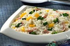 Receita de Arroz de 4 cores em receitas de arroz, veja essa e outras receitas aqui!