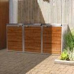 Five Modern Screens For Outdoor Garbage Bins | Apartment Therapy
