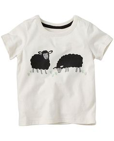 Meet our softest cotton knit yet: tees in sueded jersey, crafted with original art. It's a whole new way to keep him super-comfy, in shirts built for the long haul.  <br>•NEW baby/toddler sizes = a perfect fit for every little one <br>•100% cotton sueded jersey <br>•Front screenprint art <br>•Certified by OEKO-TEX® Standard 100 | 03.U.9375 - FI Hohenstein <br>•Prewashed <br>•Imported