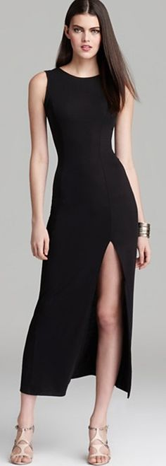 Aqua evening dress - little black dress