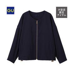 GU(GU)ノーカラーブルゾンZ - GU ジーユー