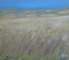 Colline d'estate 50x50 cm Luigi Torre painter 2015