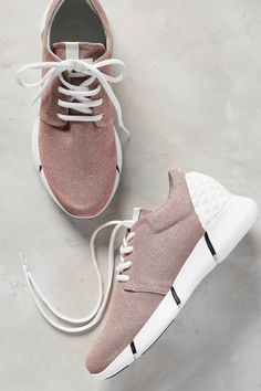 Calu Glittered Sneakers by Elena Iachi #anthrofave #anthropologie