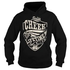 Team CHEEK Lifetime Member Dragon T-Shirts, Hoodies. BUY IT NOW ==► https://www.sunfrog.com/Names/Team-CHEEK-Lifetime-Member-Dragon--Last-Name-Surname-T-Shirt-Black-Hoodie.html?id=41382