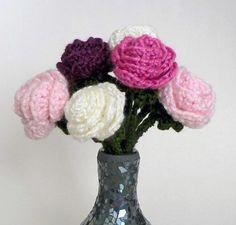 Basic Rose amigurumi crochet pattern