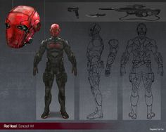 Red Hood Concept Art by ...