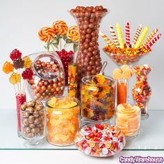 Autumn Candy Buffet | Photo Gallery | CandyWarehouse.com Online Candy Store