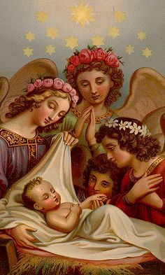 The Newborn King 41 (Waiting For The Word) Tags: baby worship jesus gloria angels manger virginmary peaceonearth emmanuel babyjesus deo excelsis newbornchrist angelsworship Merry Christmas, Christmas Nativity, Christmas Wishes, Christmas Pictures, Christmas Angels, Vintage Holy Cards, Images Vintage, Vintage Postcards, Victorian Christmas