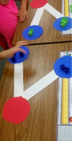 Love this idea for number bonds! Makes it so visual and hands on for the littles