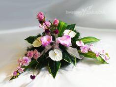 Artificial Flower Arrangements, Artificial Flowers, Casket, Ikebana, Deco, Communion, Altar, Diy And Crafts, Floral Wreath