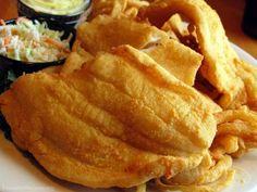 breaded flounder fillet