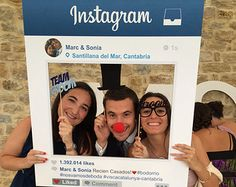 Instagram Photo Prop - Birthday, Wedding, Corporate Event, Church Event, Business Promotional Prop, First Day of School - Photo Booth Prop