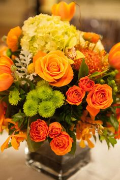 Beautiful blooms for a fall wedding