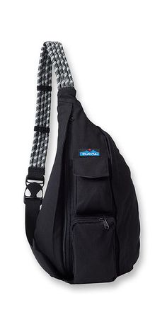 Kavu Rope Bag – Black | CrossRoads Online