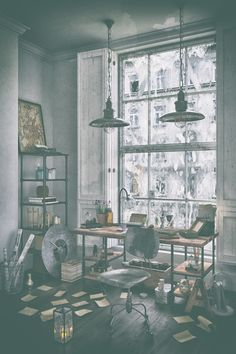 Old Study Room on Behance