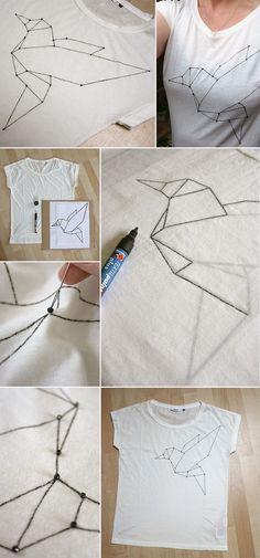 nice Gingered Things - DIY, Deko & Wohndesign: Ein Shirt für den #zalandodiy Contest...