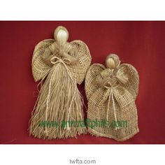 Please visit our website and email us for your handicraft needs. Burlap Projects, Burlap Crafts, Christmas Projects, Holiday Crafts, Christmas Crafts, Christmas Decorations, Christmas Ornaments, Burlap Lace, Burlap Roses