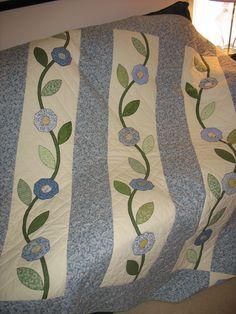 Spring lap quilt