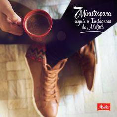 Já segue a gente no Instagram? Então é hora de aproveitar esses minutinhos para ver os nossos cafés que podem inspirar o seu dia. <3 http://instagram.com/melittabrasil