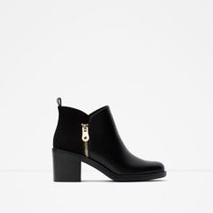 COMBINED ANKLE BOOT-Shoes-TRF | ZARA United States