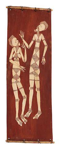 Lofty Bardayal Nadjamerrek (1926-2009) Untitled (Mimihs), c.1970